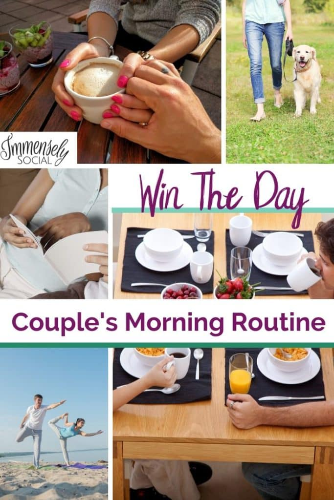 Easy Win The Day Couple's Morning Routine Working From Home And Out